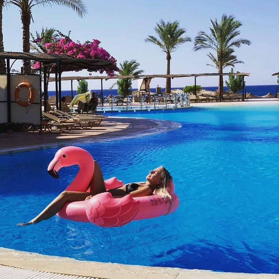 @anastasiyaveber is sharing with us her wonderful relaxation experience!  Float away on your dream holiday at #JazDahabeya